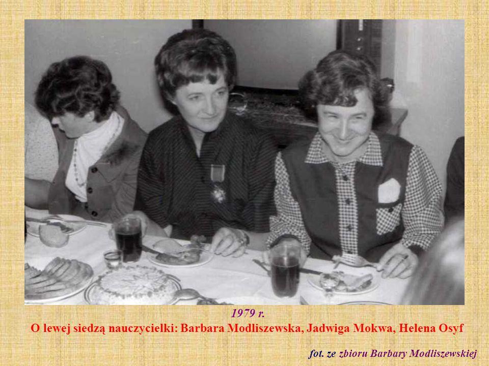 fot. ze zbioru Barbary Modliszewskiej