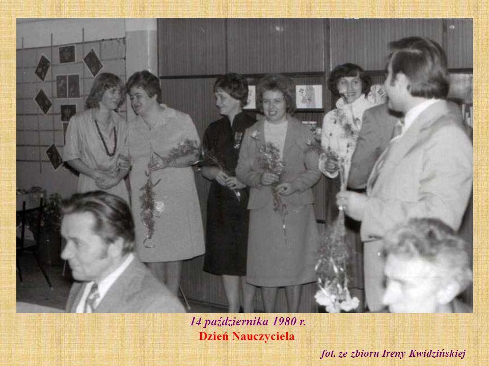 14 października 1980 r. Dzień Nauczyciela