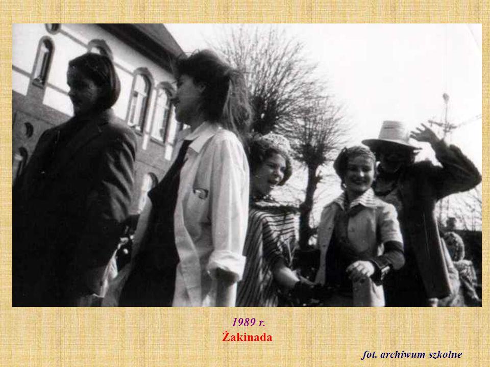 1989 r. Żakinada fot. archiwum szkolne