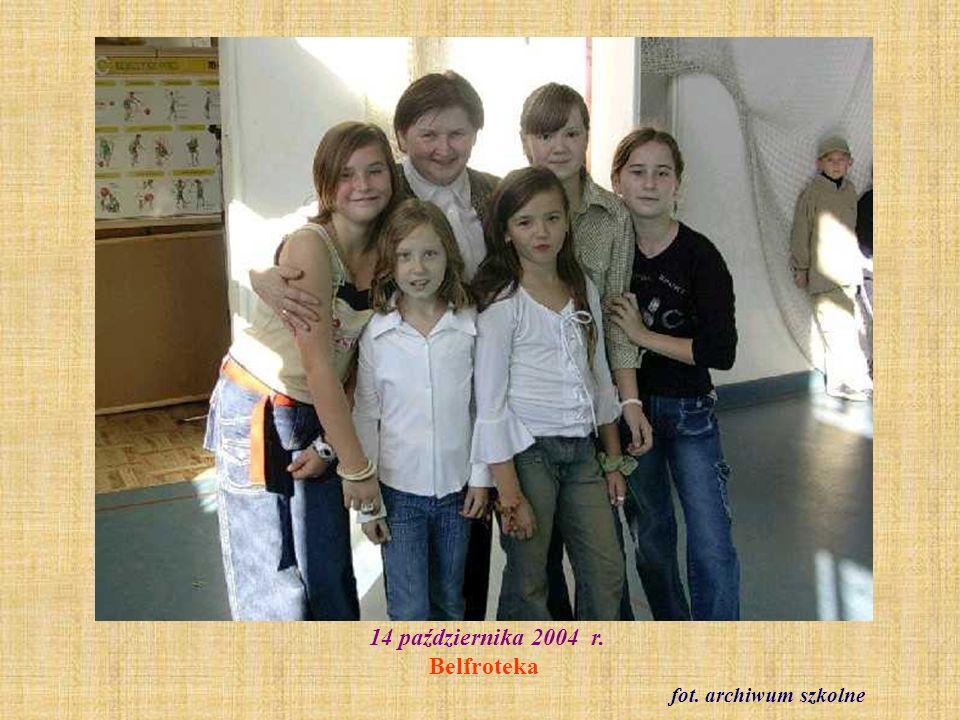 14 października 2004 r. Belfroteka