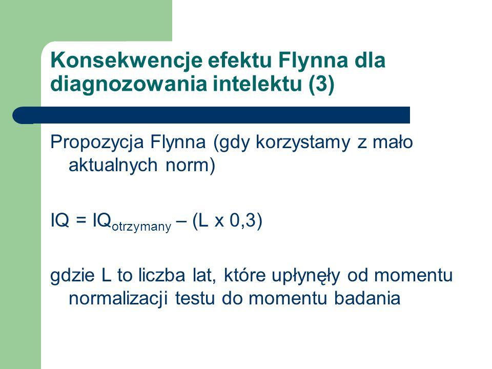 Konsekwencje efektu Flynna dla diagnozowania intelektu (3)