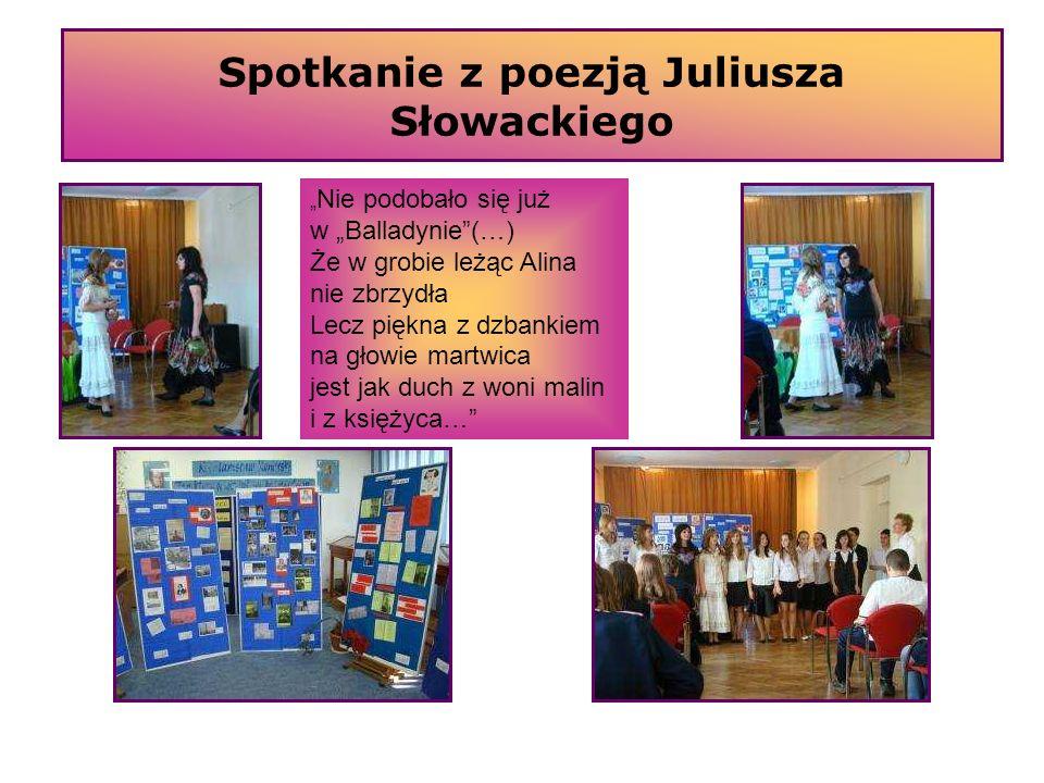 Spotkanie z poezją Juliusza Słowackiego