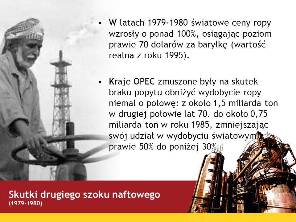 Skutki drugiego szoku naftowego
