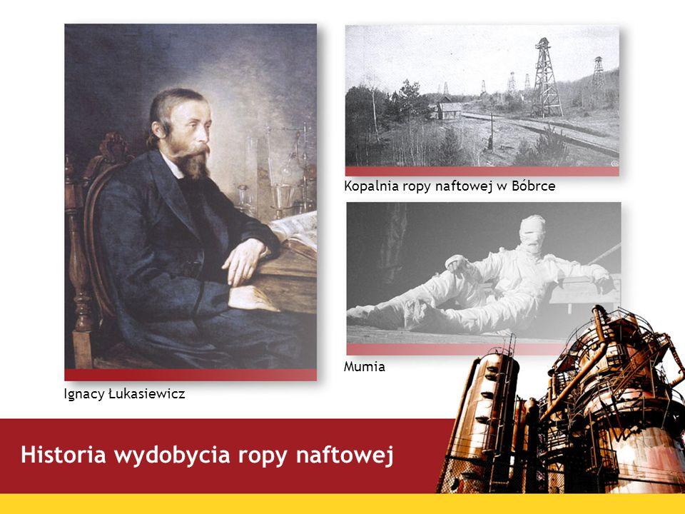 Historia wydobycia ropy naftowej