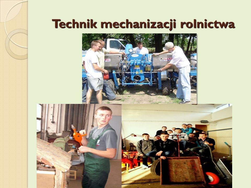 Technik mechanizacji rolnictwa