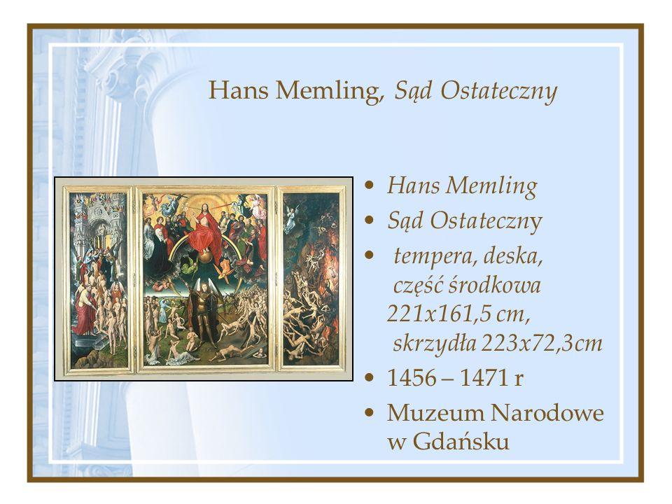Hans Memling, Sąd Ostateczny