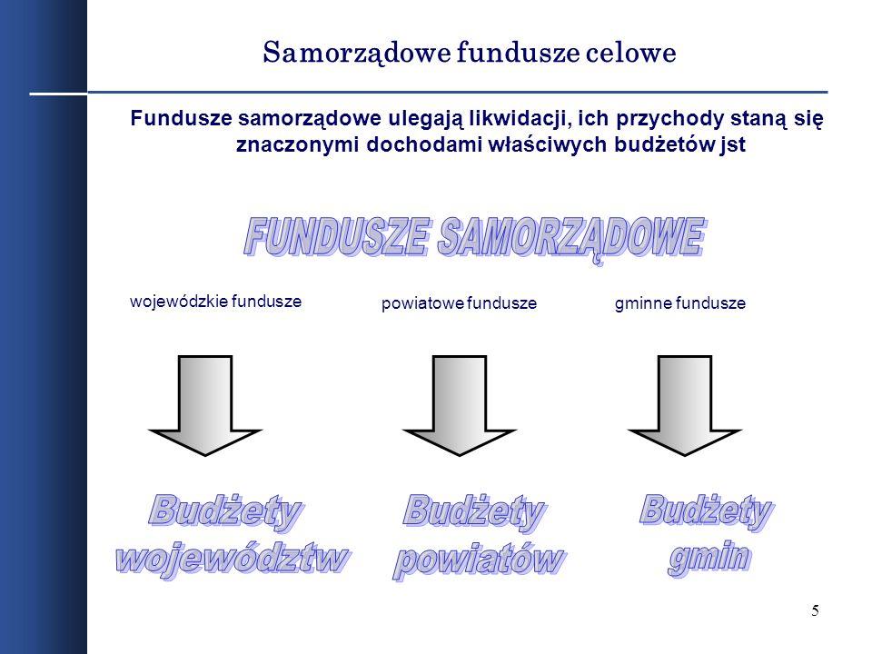 Samorządowe fundusze celowe