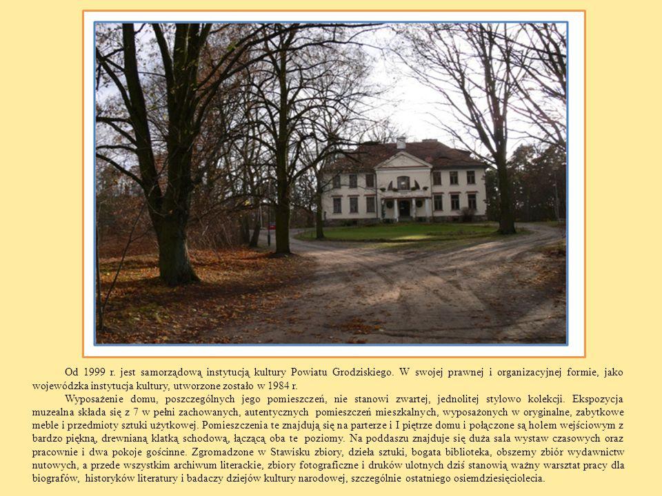 Od 1999 r. jest samorządową instytucją kultury Powiatu Grodziskiego