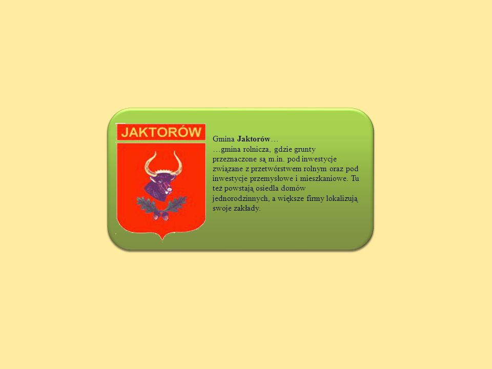 Gmina Jaktorów…