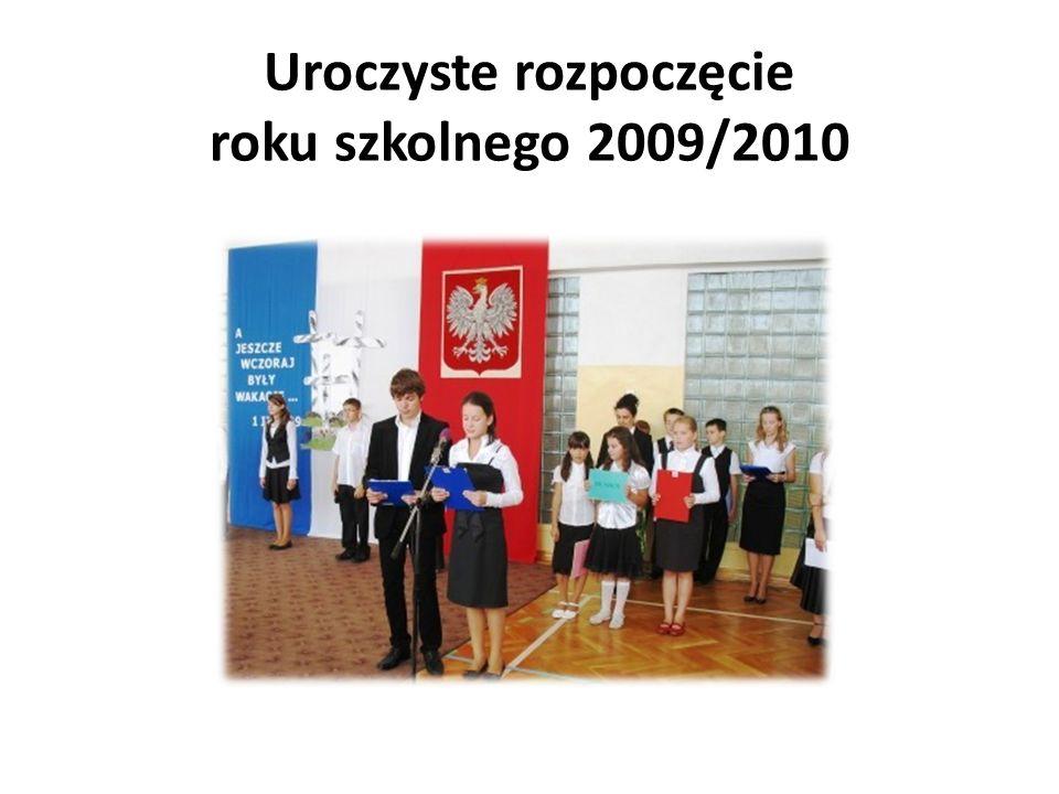 Uroczyste rozpoczęcie roku szkolnego 2009/2010