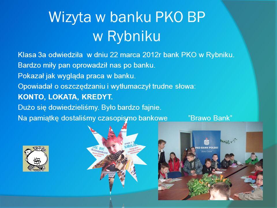 Wizyta w banku PKO BP w Rybniku