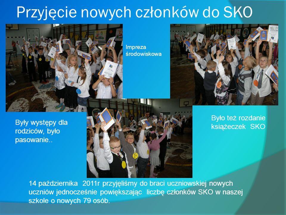 Przyjęcie nowych członków do SKO