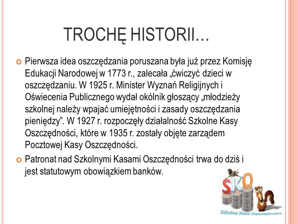TROCHĘ HISTORII…