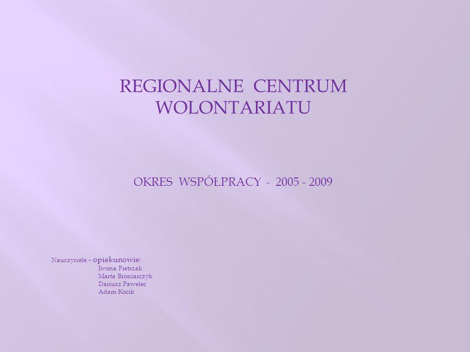 REGIONALNE CENTRUM WOLONTARIATU