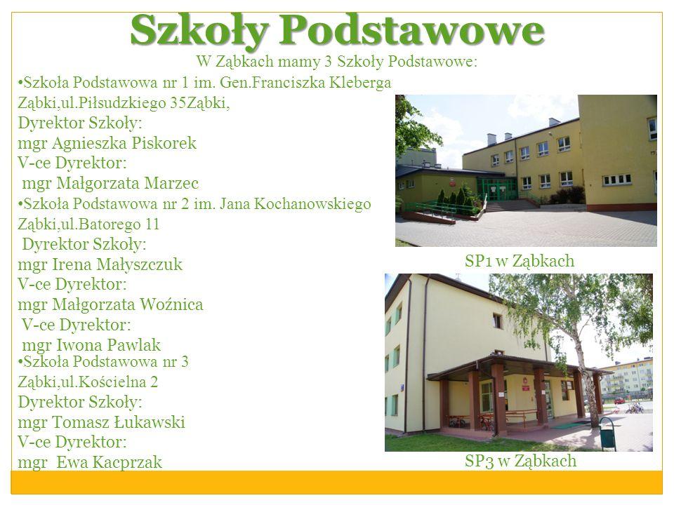 W Ząbkach mamy 3 Szkoły Podstawowe: