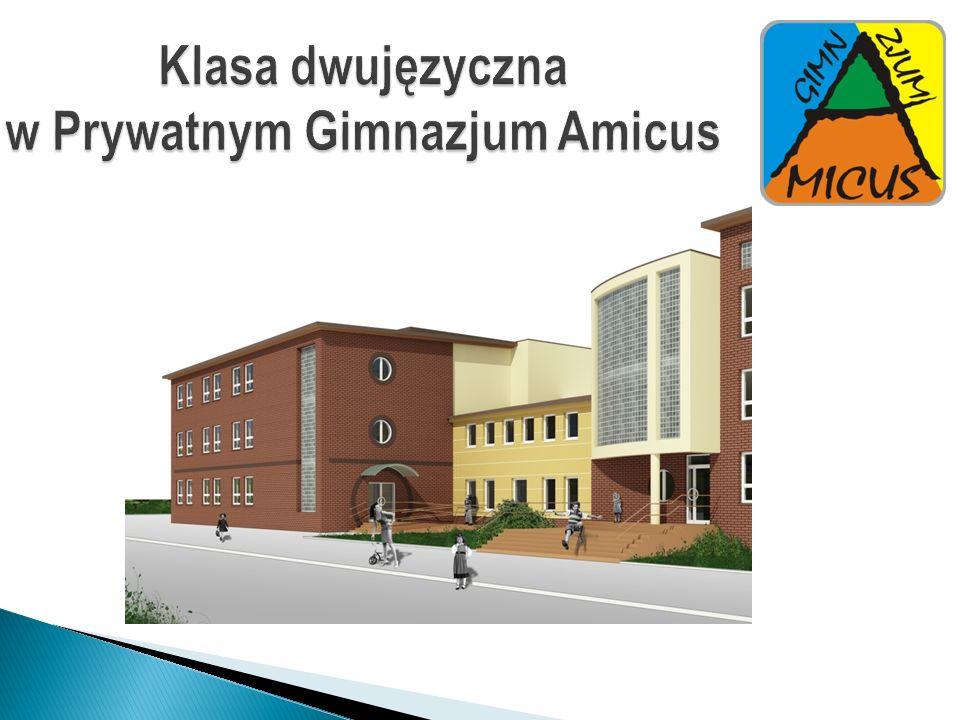 Klasa dwujęzyczna w Prywatnym Gimnazjum Amicus