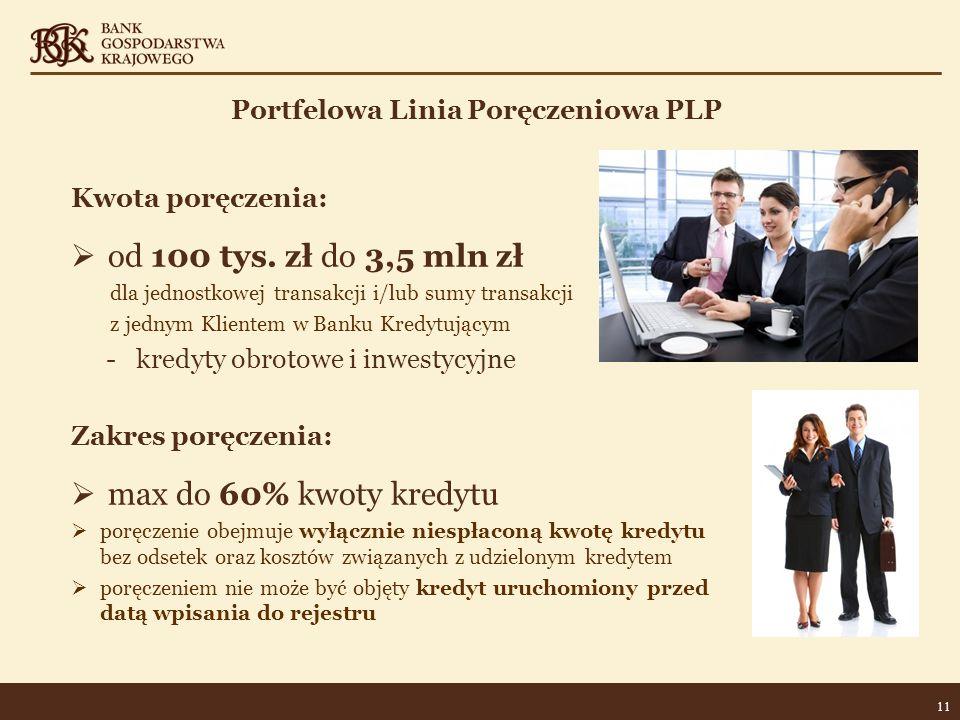 Portfelowa Linia Poręczeniowa PLP