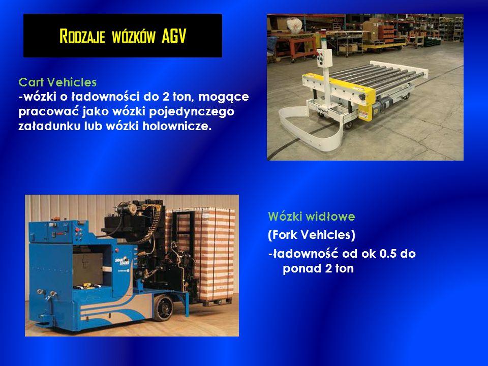 Rodzaje wózków AGV Cart Vehicles