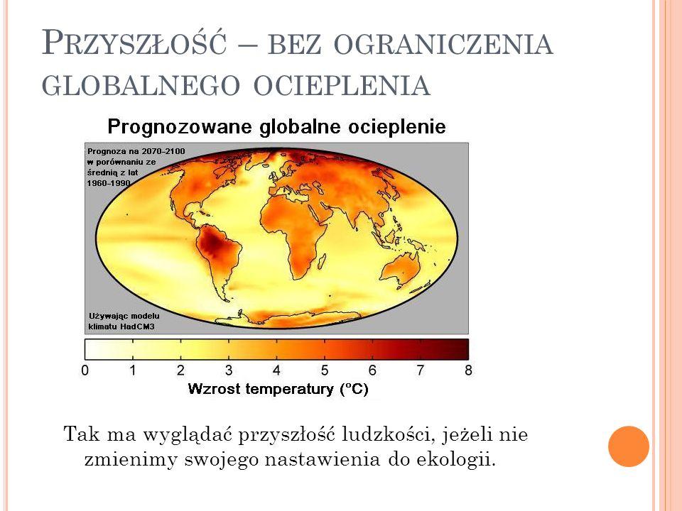 Przyszłość – bez ograniczenia globalnego ocieplenia