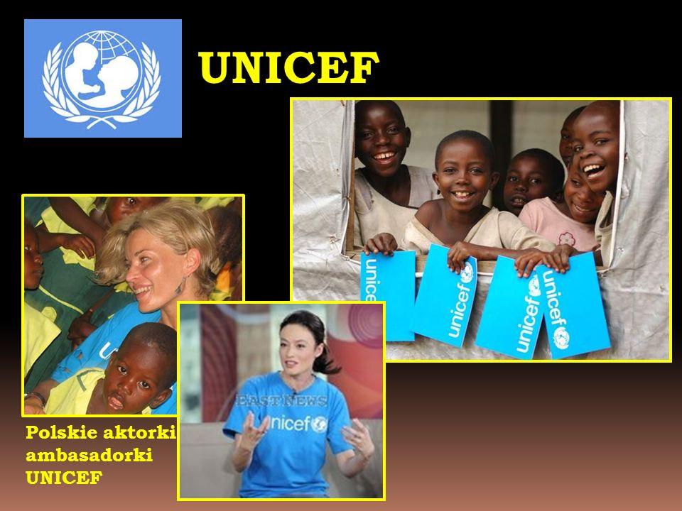 UNICEF Polskie aktorki -ambasadorki UNICEF