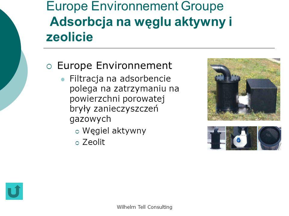 Europe Environnement Groupe Adsorbcja na węglu aktywny i zeolicie
