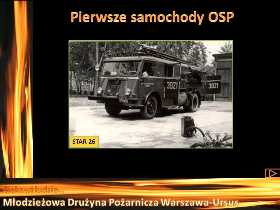 Pierwsze samochody OSP