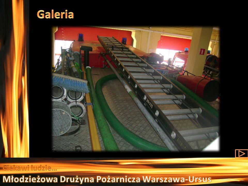 Galeria Ciekawi ludzie… Młodzieżowa Drużyna Pożarnicza Warszawa-Ursus