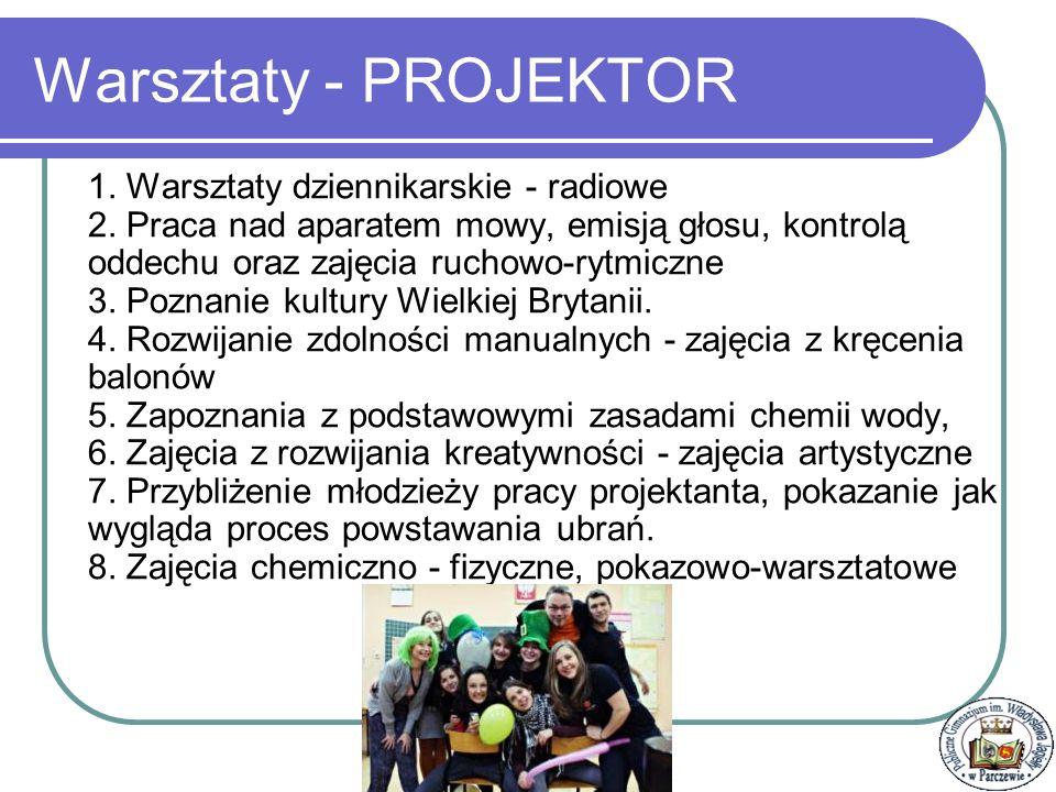 Warsztaty - PROJEKTOR