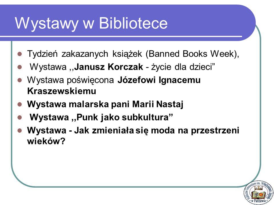 Wystawy w Bibliotece Tydzień zakazanych książek (Banned Books Week),