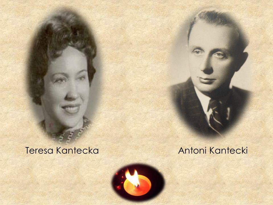 Teresa Kantecka Antoni Kantecki