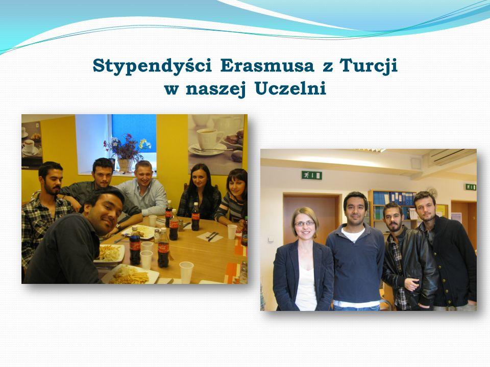 Stypendyści Erasmusa z Turcji w naszej Uczelni