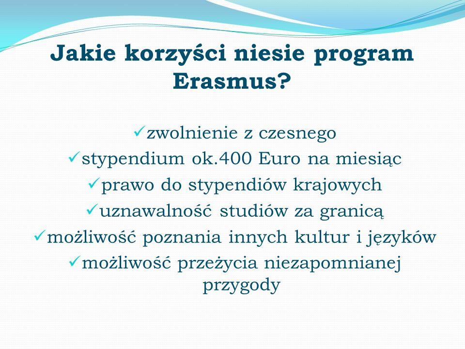 Jakie korzyści niesie program Erasmus