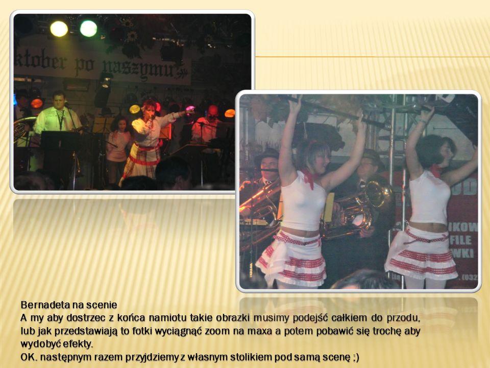 Bernadeta na scenie