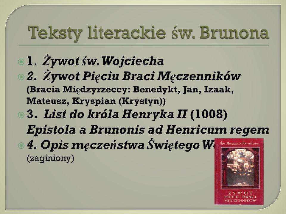 Teksty literackie św. Brunona