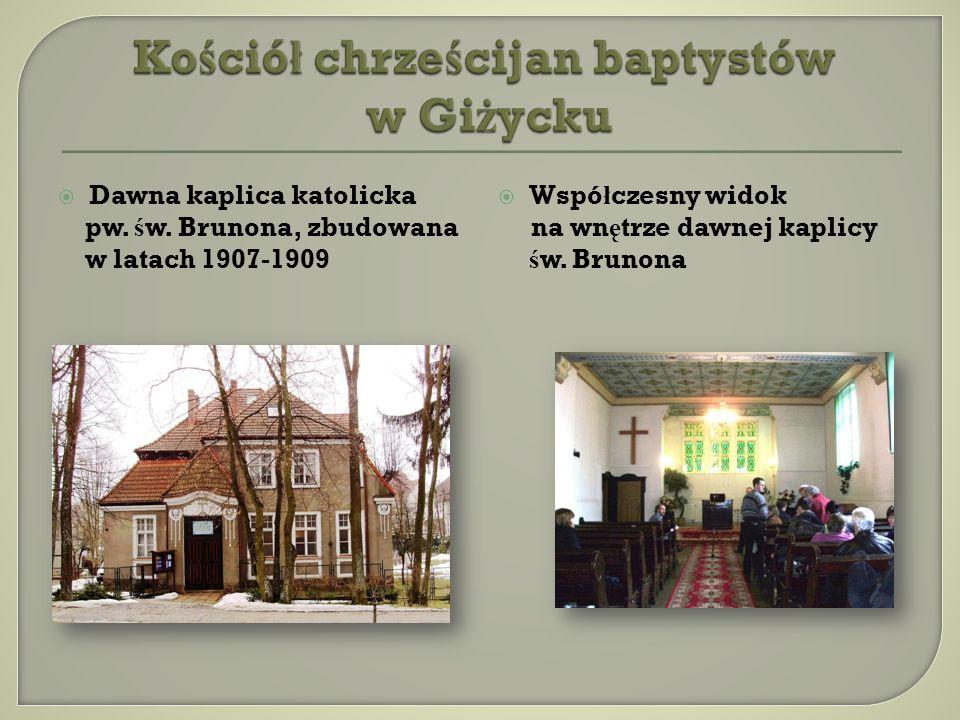 Kościół chrześcijan baptystów w Giżycku