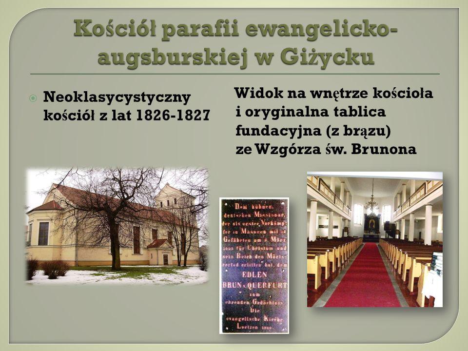 Kościół parafii ewangelicko-augsburskiej w Giżycku