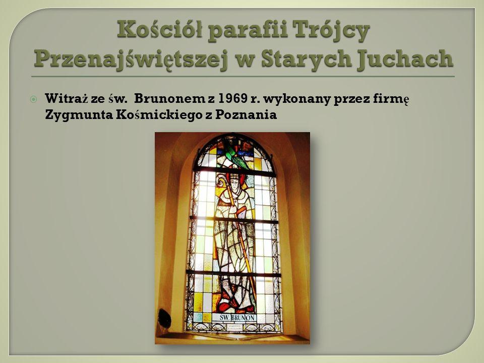 Kościół parafii Trójcy Przenajświętszej w Starych Juchach