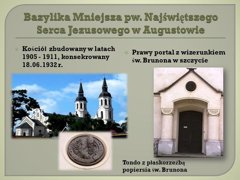 Bazylika Mniejsza pw. Najświętszego Serca Jezusowego w Augustowie