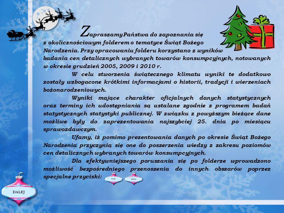 Zapraszamy Państwa do zapoznania się z okolicznościowym folderem o tematyce Świąt Bożego