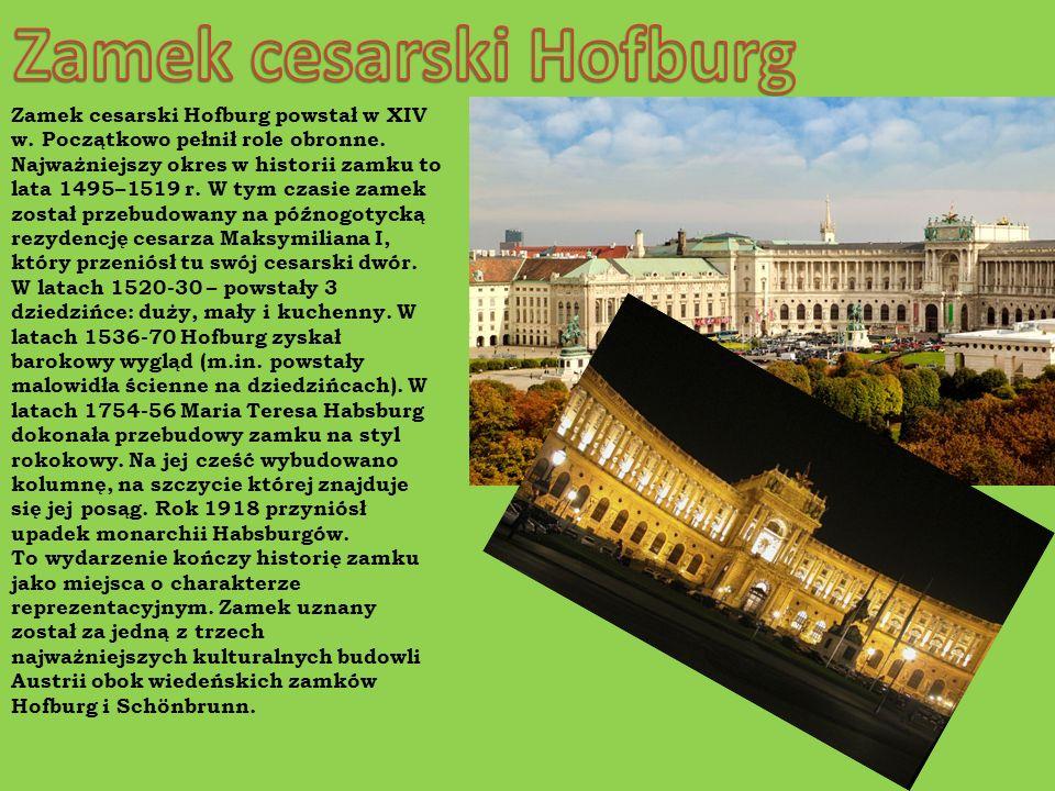 Zamek cesarski Hofburg