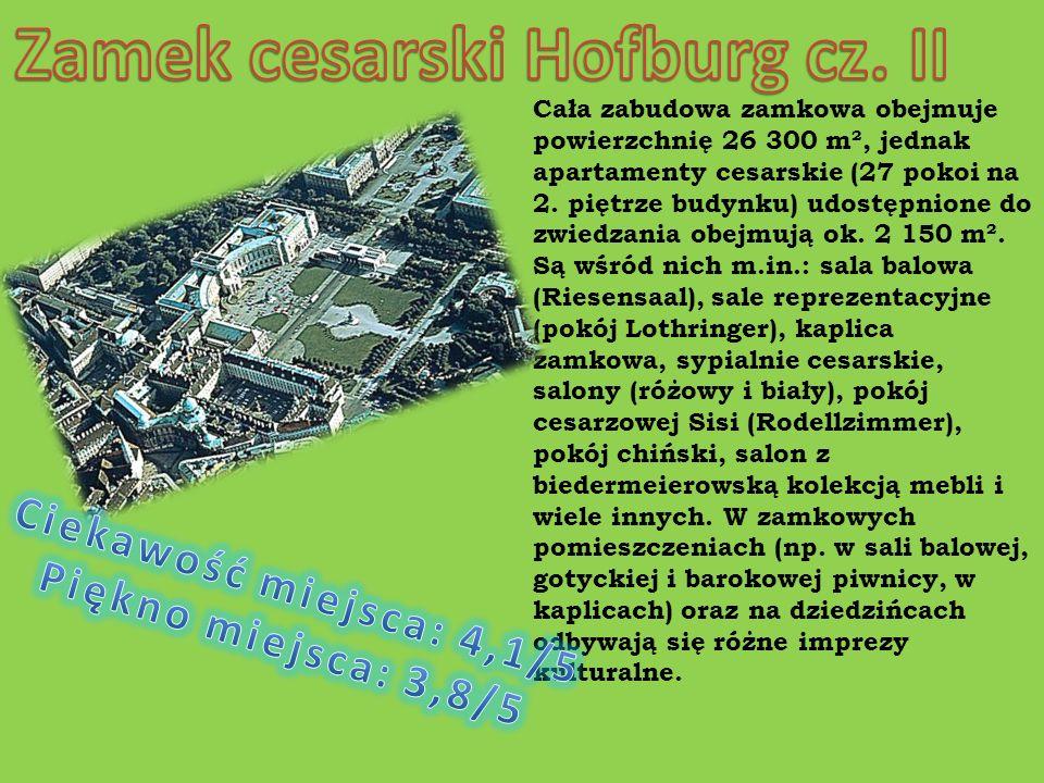 Zamek cesarski Hofburg cz. II