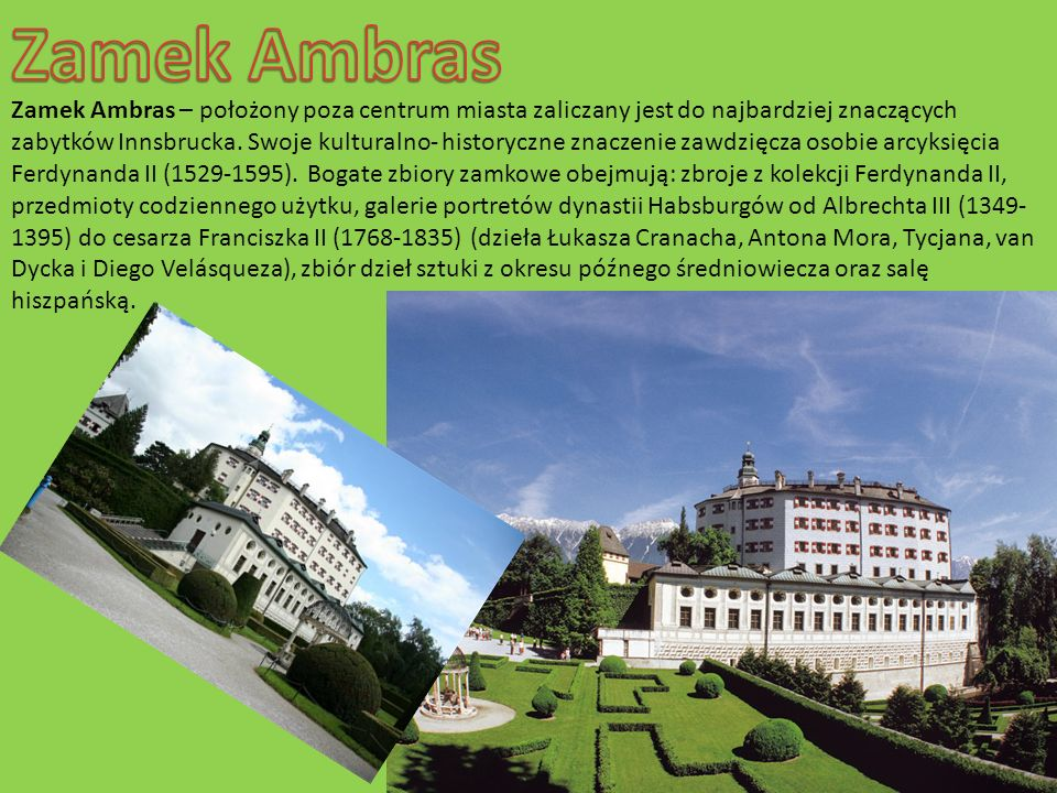 Zamek Ambras