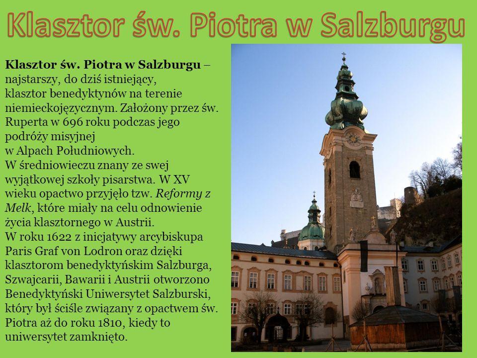 Klasztor św. Piotra w Salzburgu