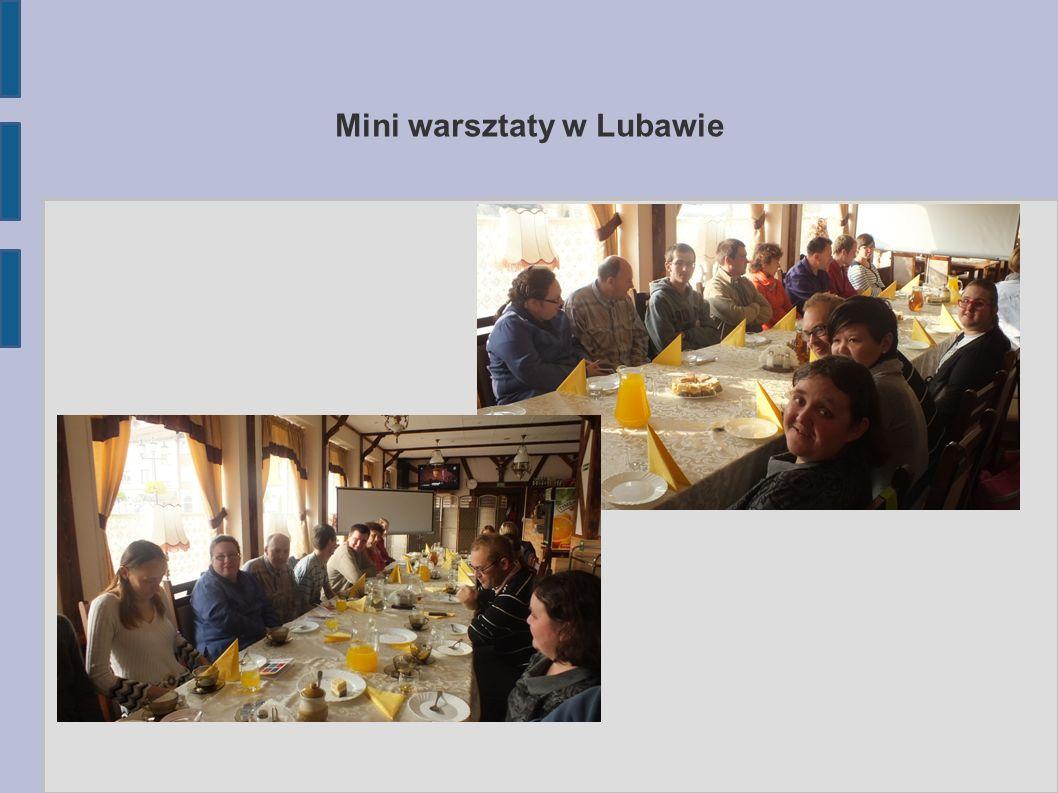 Mini warsztaty w Lubawie