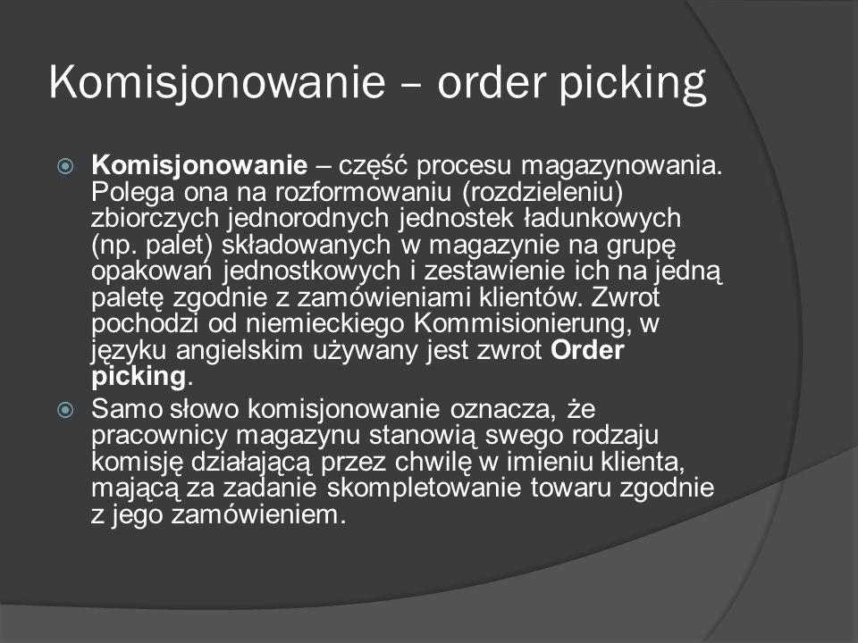 Komisjonowanie – order picking