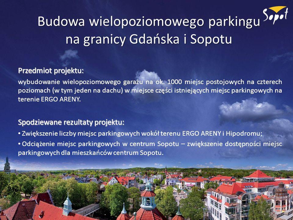 Budowa wielopoziomowego parkingu na granicy Gdańska i Sopotu
