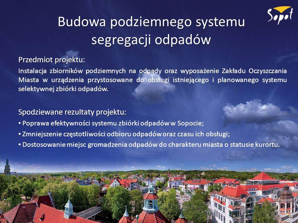 Budowa podziemnego systemu segregacji odpadów