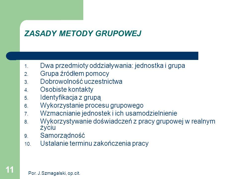 ZASADY METODY GRUPOWEJ