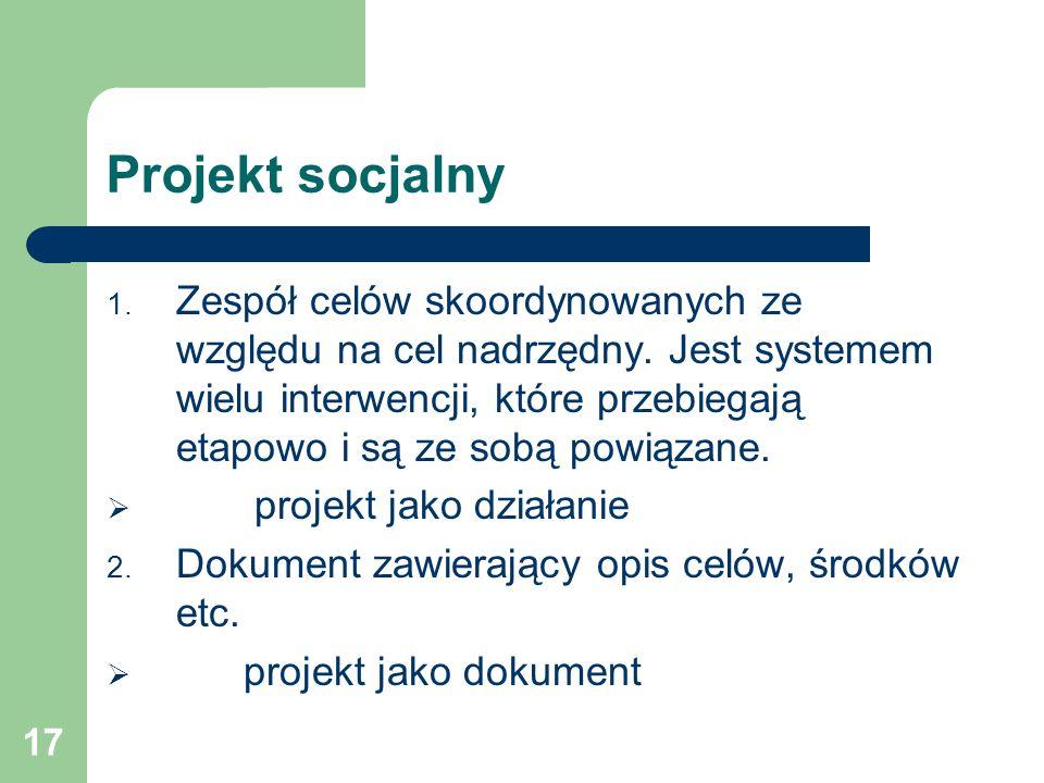 Projekt socjalny