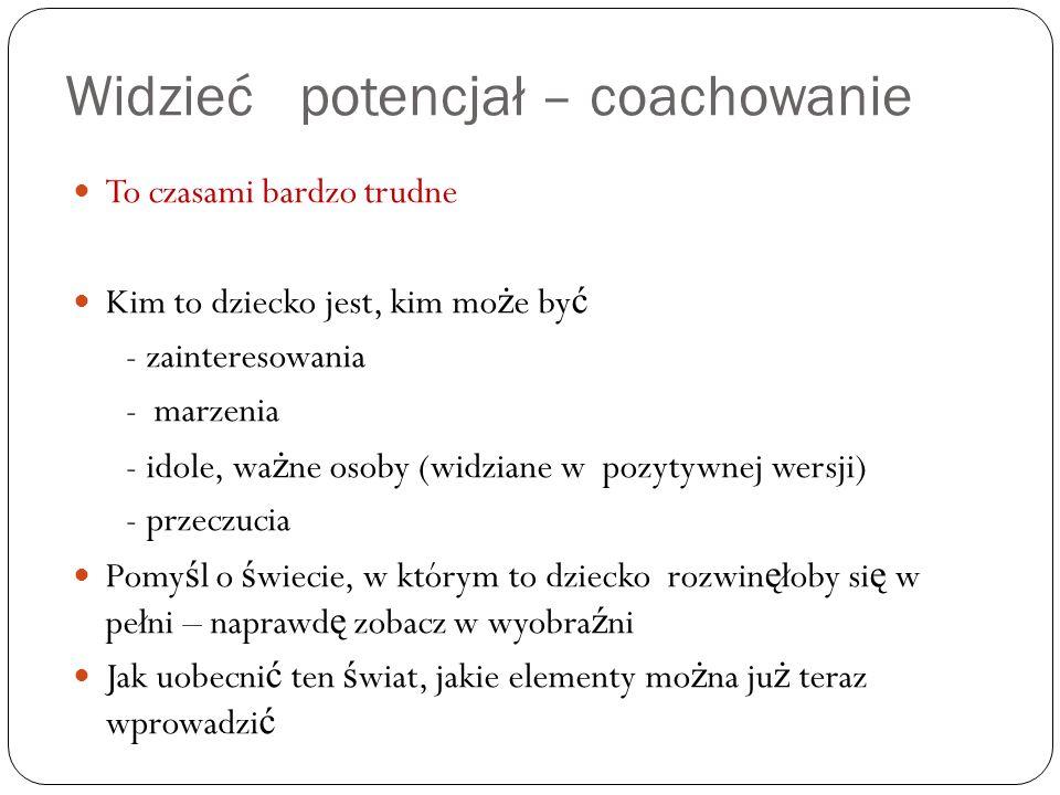 Widzieć potencjał – coachowanie